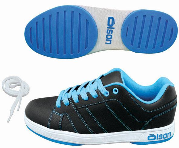 S013 - Ladies Bali Blue Shoes 3/32""